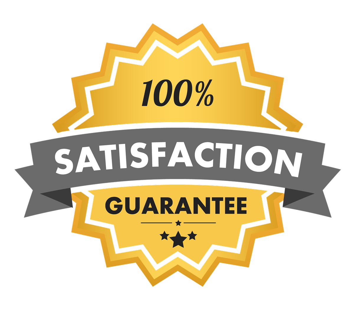 satisfaction guarantee 1200